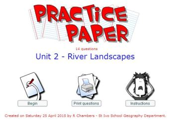 Practice Paper - Rivers