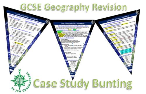 Geography Case Study Bunting - Unit 3