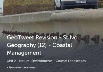 GeoTweet - Coastal Management