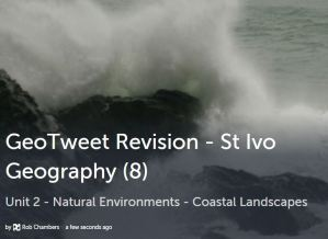 GeoTweet - Coastal Processes