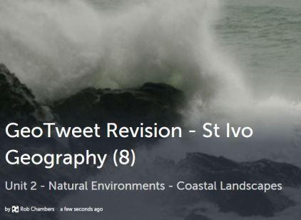 GeoTweet - Coastal Processes