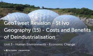 geoTweet - deindustrialisation