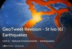 GeoTweet- Earthquakes