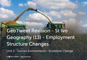 GeoTweet - Employment Structure