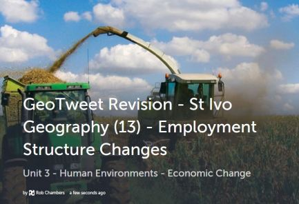 GeoTweet - Employment Structure