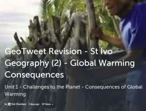 GeoTweet-Globalwarmingconsequences