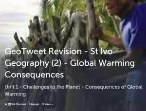 GeoTweet-Globalwarmingconsequences