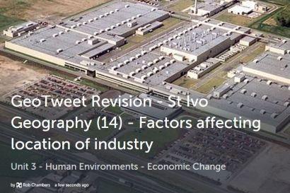 GeoTweet - location factors