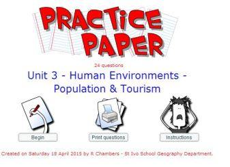 Practice Paper - Unit 3