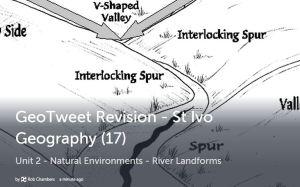 GeoTweet - River landforms