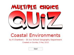 Multi Choice Coasts