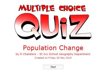 Population Multiple Choice