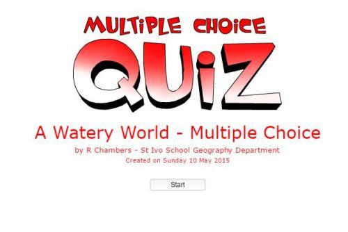 WateryWorldQuiz